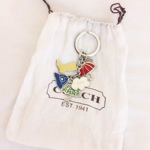 Coach Rainy Day Key Chain